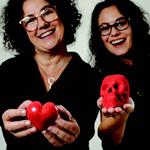 Vania Ferrari e Anna Nogueira