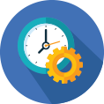 Economia de tempo, devido ao rápido processamento dos dados;