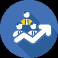 Promove uma gestão mais eficiente através de processos de workflows;
