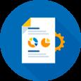 Autonomia e facilidade na criação e emissão<br> de relatórios;