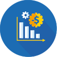 Redução de custos <br> pelo controle e <br>acompanhamento de gastos com pessoal;
