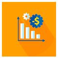 Maior eficiência e redução de custos, eliminando as <br>tarefas repetitivas <br>e operacionais;
