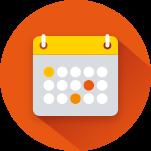 A tabela de eventos fica disponível para o BPO,